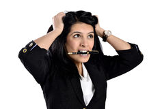 Beautiful attractive business women Royalty Free Stock Image