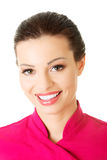 Beautiful attractive woman smiling. Royalty Free Stock Photography