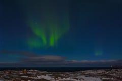 Beautiful aurora borealis Stock Image