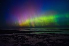 Beautiful Aurora Borealis Royalty Free Stock Image