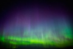 Beautiful Aurora Borealis Royalty Free Stock Photography