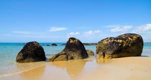 Beautiful Australian Beach Royalty Free Stock Images