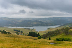Beautiful Australian countryside with lake. NSW, Australia Stock Images
