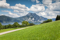 Beautiful Austrian landscape Royalty Free Stock Photos