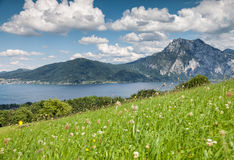 Beautiful Austrian landscape Stock Photo