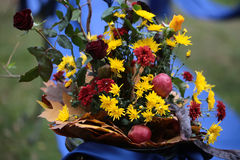 Beautiful Autumn Bouquet Royalty Free Stock Photos