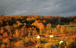 Beautiful autumn countryside Royalty Free Stock Photos