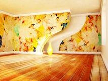 Beautiful autumn interior Stock Photos