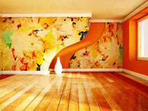 Beautiful autumn interior Royalty Free Stock Images