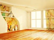 Beautiful autumn interior Stock Images