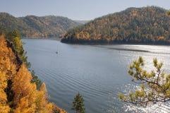 Beautiful autumn landscape Stock Photos