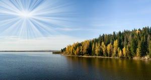 Beautiful autumn landscape. Stock Image