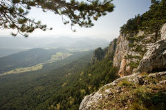 Beautiful autumn landscape in the Alps. Stock Photos