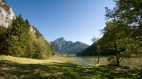 Beautiful autumn landscape in the Alps. Stock Photography