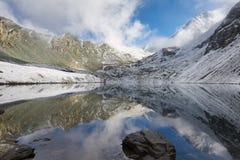 Beautiful autumn landscape, Altai mountains Russia. Stock Images