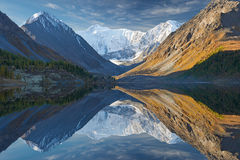 Beautiful autumn landscape, Altai mountains Russia. Stock Images