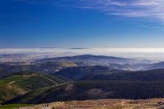 Beautiful Autumn landscape, Karkonosze Mountains, Poland Royalty Free Stock Images