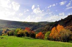 Beautiful autumn landscape. A beautiful autumn landscape view Stock Images