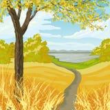 Beautiful autumn landscape Royalty Free Stock Photo