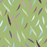 Beautiful autumn leaves seamless pattern. Textile fashion paper design Stock Illustration