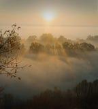 Beautiful autumn morning Royalty Free Stock Photos