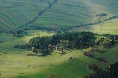 Beautiful, autumn mountain landscape. Beautiful mountain landscape with sunbeam Stock Image