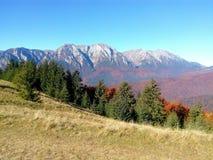Beautiful autumn mountain landscape stock photo