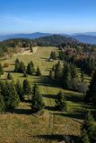 Beautiful autumn mountain landscape Stock Images