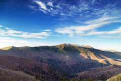 Beautiful autumn mountain landscapes Royalty Free Stock Images