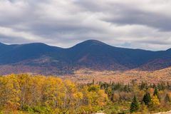 Beautiful Autumn mountain in , New  Hampshire, USA Royalty Free Stock Images