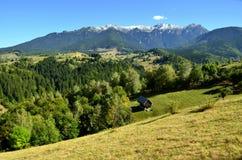 Beautiful autumn mountain view Royalty Free Stock Photo