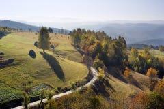 Beautiful autumn mountains Royalty Free Stock Photo