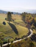 Beautiful autumn mountains Stock Photography