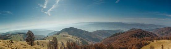 Beautiful autumn panorama Royalty Free Stock Images