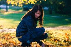 Beautiful autumn portrait Royalty Free Stock Images