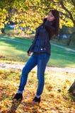 Beautiful autumn portrait Royalty Free Stock Photo