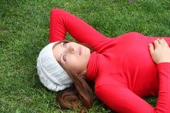 Beautiful autumn woman fashion Stock Photography
