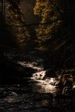 Beautiful autumn sunny photo taken in Beskid mountains Stock Photo