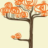 Beautiful autumn tree for your design. Vector Stock Photo