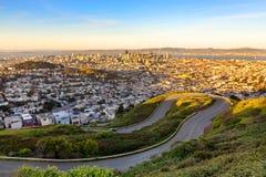 Free Beautiful Autumn View Of Downtown San Francisco Royalty Free Stock Photo - 108496865