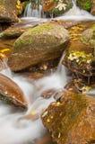 Beautiful Autumn Waterfall royalty free stock image