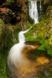 Beautiful Autumn Waterfall royalty free stock images