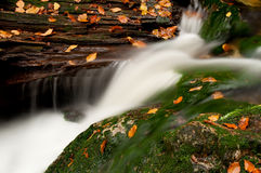 Beautiful Autumnm Waterfall Royalty Free Stock Photography