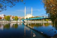 THE BEAUTIFUL AVANOS CITY IN TURKEY Stock Photography