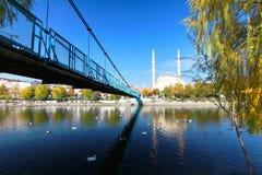 THE BEAUTIFUL AVANOS CITY IN TURKEY Royalty Free Stock Photography