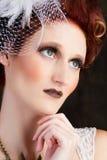 Beautiful Avant-garde Bride Royalty Free Stock Photo