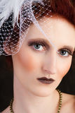 Beautiful Avant-garde woman Royalty Free Stock Photography
