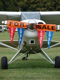 Beautiful Aviat Husky A-1B aircraft for sale. Royalty Free Stock Images