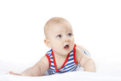 Beautiful baby stock photo