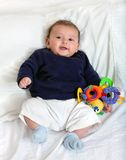 Beautiful baby boy Stock Photography